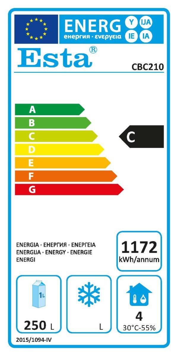 Backbar-Kühlschrank CBC 210 - Esta