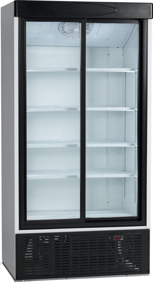 Glasschiebetüren-Kühlschrank SL 1002 G - Esta