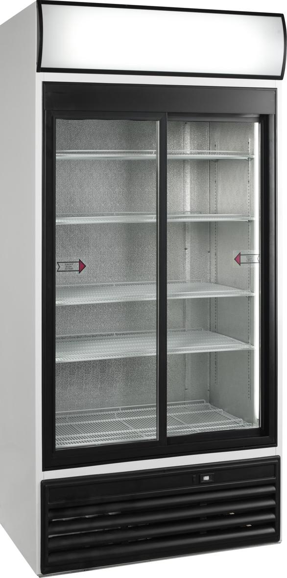 Glasschiebetüren-Kühlschrank SL 1000 GL - Esta