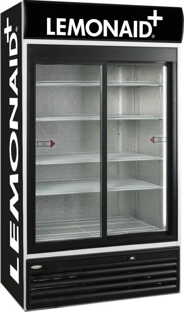 Glasschiebetüren-Kühlschrank SL 1200 GL - Esta