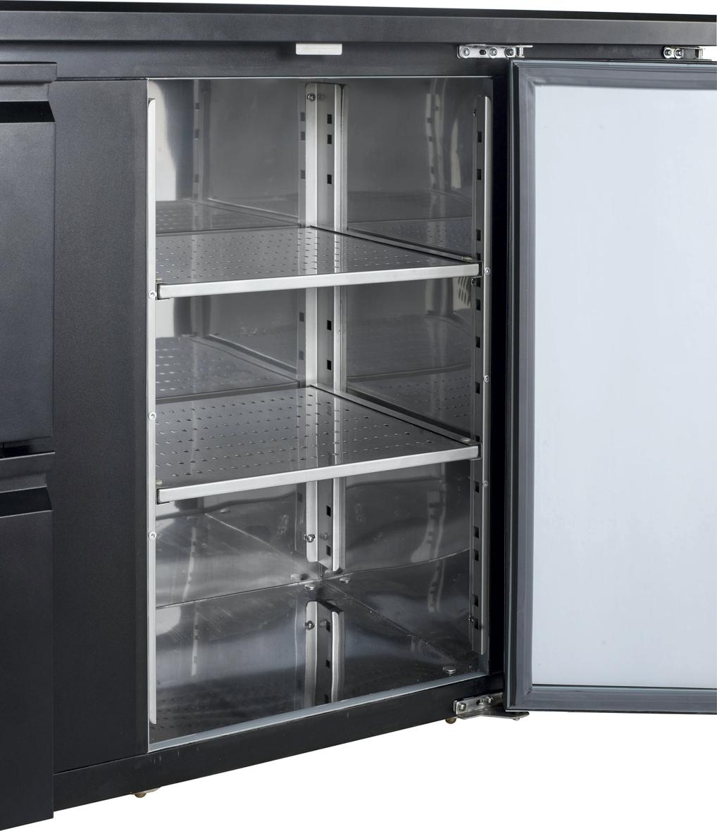 Backbar-Kühlschrank CBC 310 G – Esta