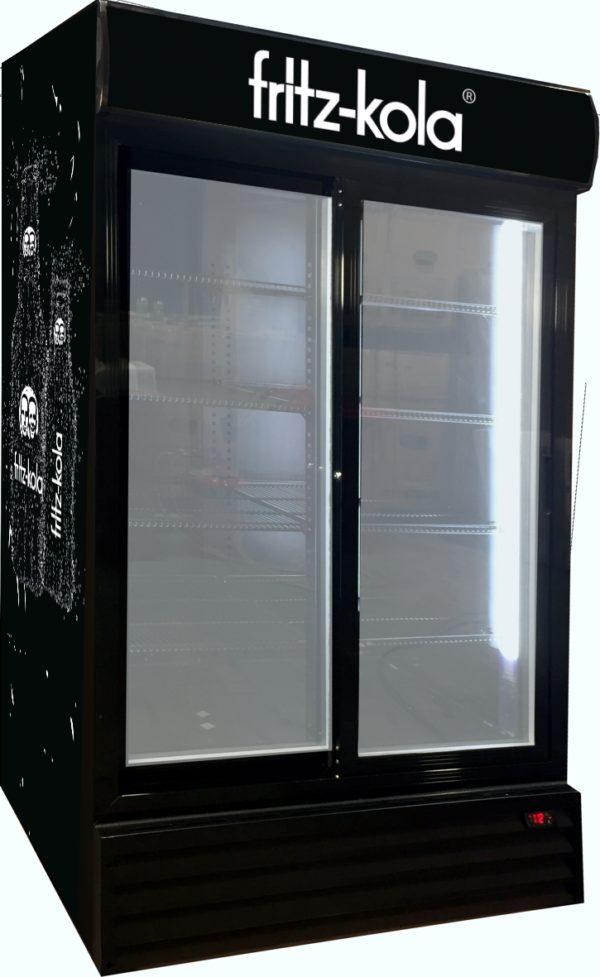 Glasschiebetüren-Kühlschrank SD 1001 GLSS - Esta