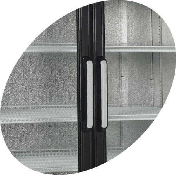 Glastür-Kühlschrank HL 1000 GL - Esta