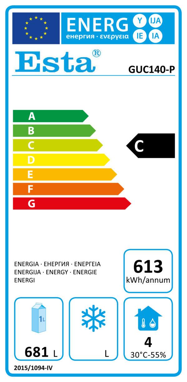Kühlschrank GUC 140-P - Esta