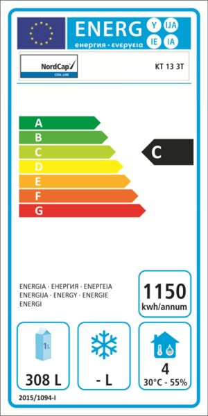 Energielabel KT 13 3T