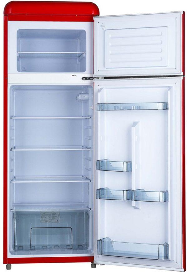 Kühl-Tiefkühlkombination RKF202-Retro - Esta