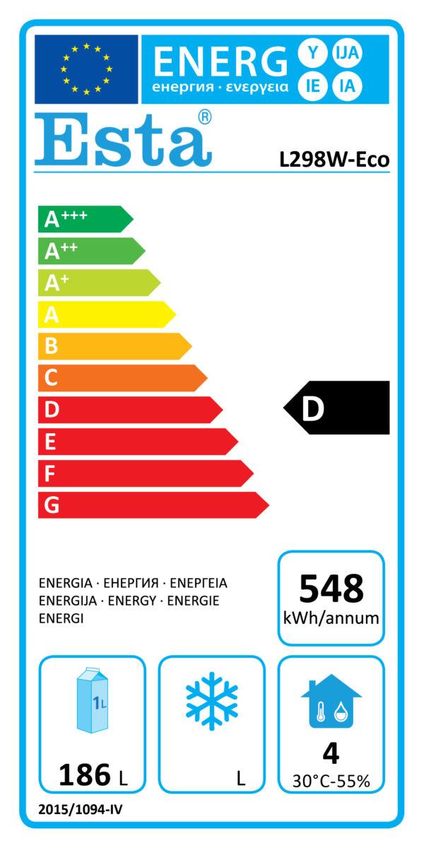 Kühlschrank L 298 W-Eco - Esta