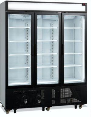 Glastür-Kühlschrank HL 1600 GL - Esta