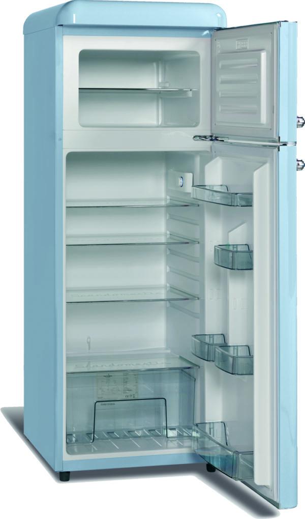Kühl-Tiefkühlkombination RSB203-Retro - Esta