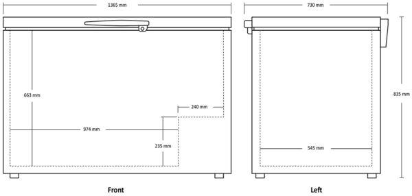 Tiefkühltruhe SB 400-1 - Esta