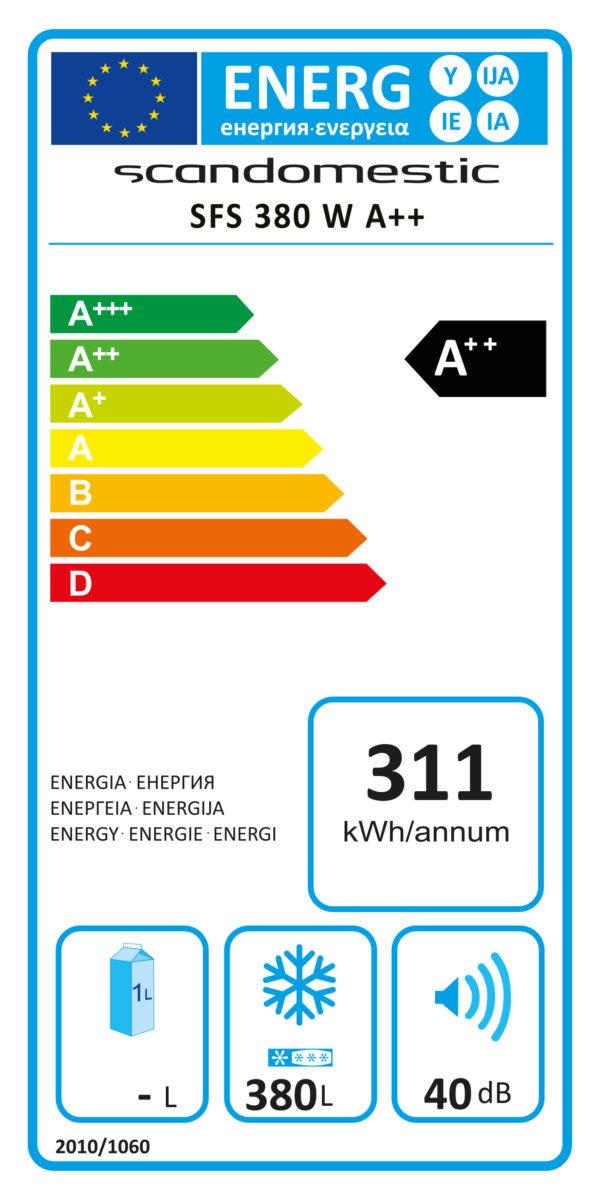 Tiefkühlschrank SFS 380 - Esta