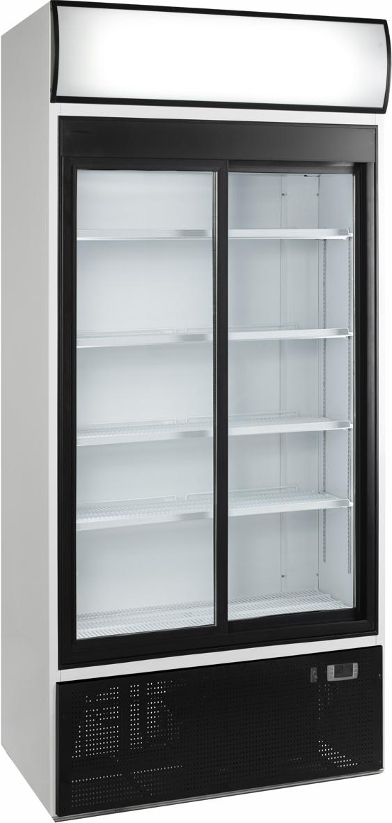 Glasschiebetüren-Kühlschrank SL 890 GL - Esta