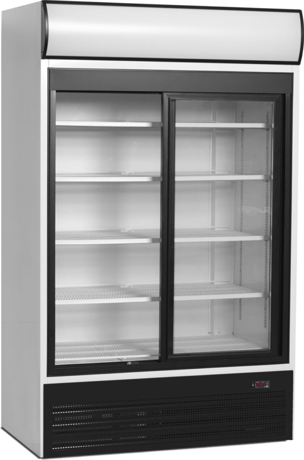 Glasschiebetüren-Kühlschrank SL 1950 GL - Esta