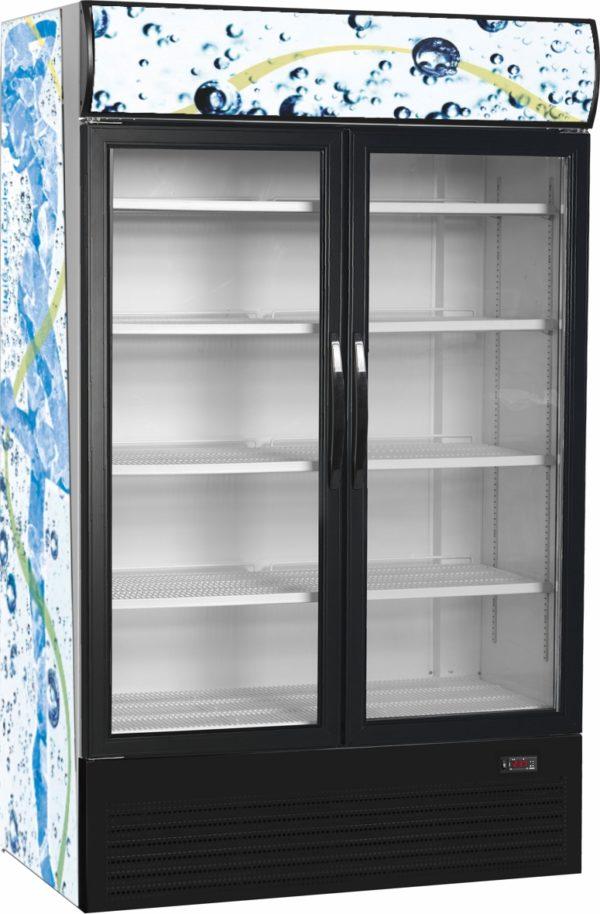 Glastür-Kühlschrank HL 1950 GL - Esta