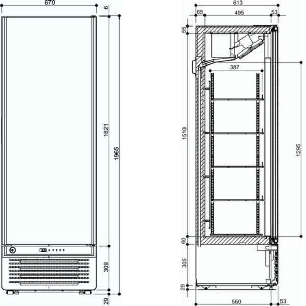 Tiefkühlschrank GLEE 45wv2 Lite - Iarp