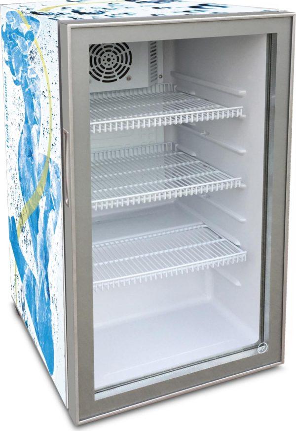 Kühlschrank Counter 98-Silver - iarp