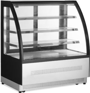 Kühlvitrine LPD 1200C-black - Esta