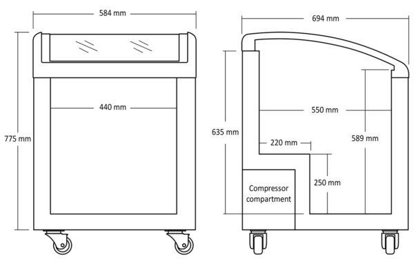 Tiefkühltruhe SD 155E - Esta